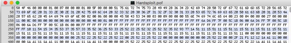 VHDL Firmware Bit stream